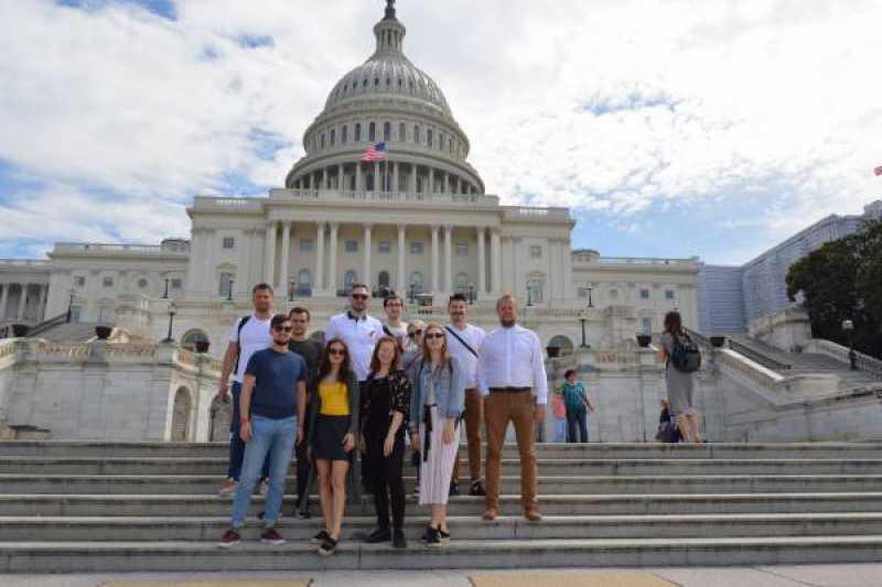 Studenci stosunków międzynarodowych w USA