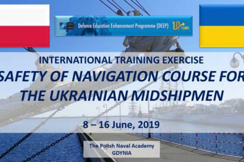 Szkolenie SAFNAV dla podchorążych z Odessy