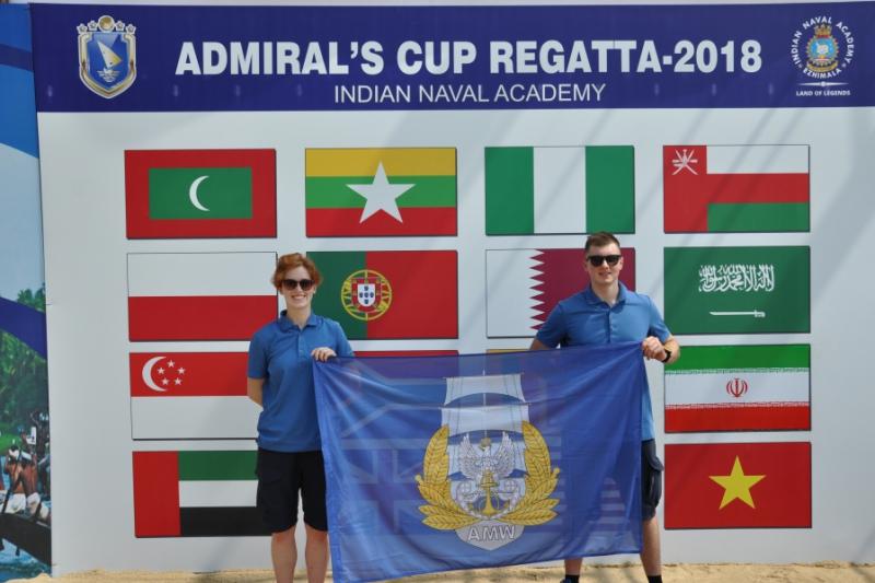 Srebro w Admiral's Cup Regatta 2018