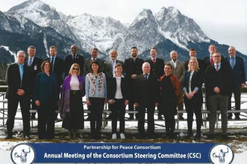 Spotkanie Komitetu Sterującego Konsorcjum Partnerstwa dla Pokoju w Garmisch-Partenkirchen